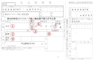 2015_県選手権払込票_記入方法