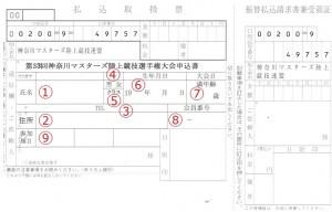 2016_県選手権払込票_記入方法